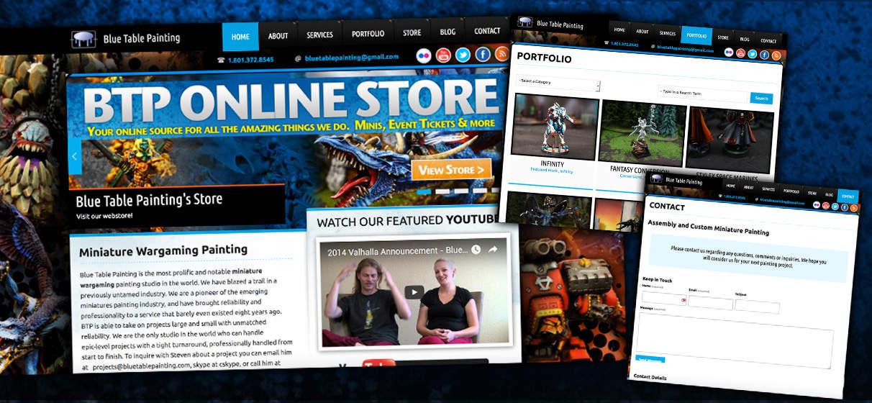 Artistic Web Design and Theme