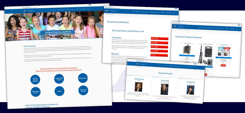 Attractive crowdfunding web design