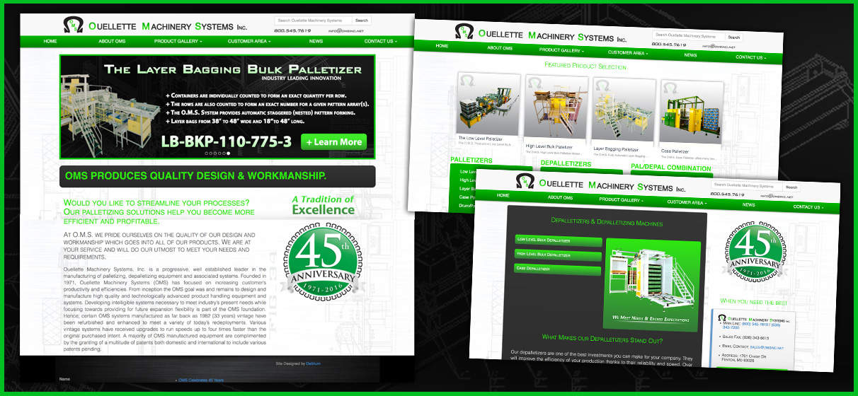 Clean, informative web design