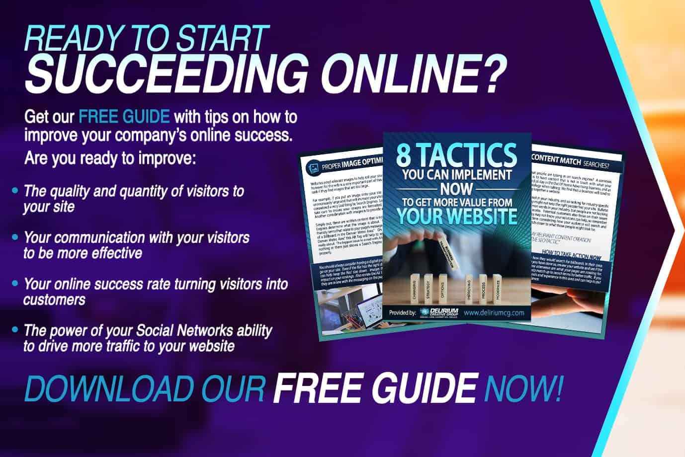 Conversion Focused Website Success Download